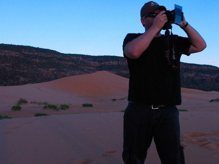 USA Pink Sand Dunes