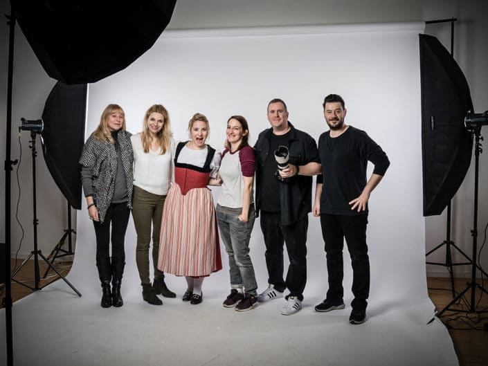 Shooting for Press Pictures, CD Album, Social Media Banner and Posts Work for: Stargarage AG , Sony Music Switzerland , Miss Helvetia - Barbara Klossner
