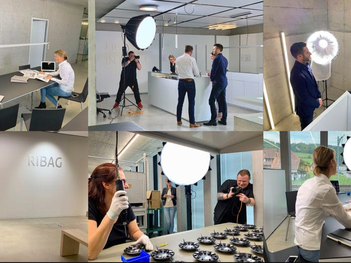 Business Shooting for RIBAG Licht AG - cultivated