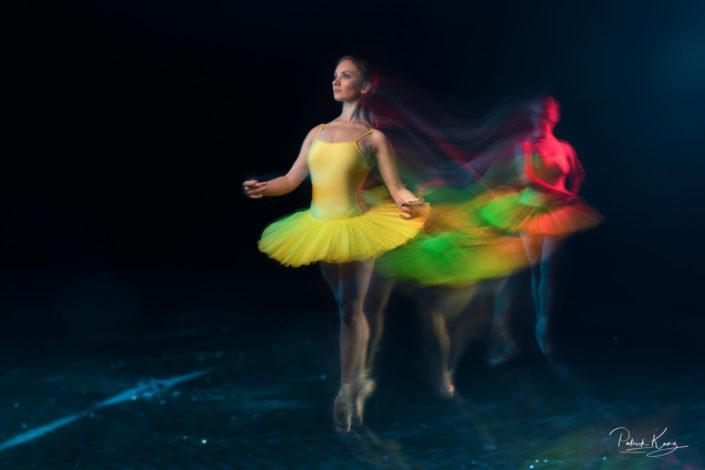 Ballet Fotografie - Langzeitbelichtung