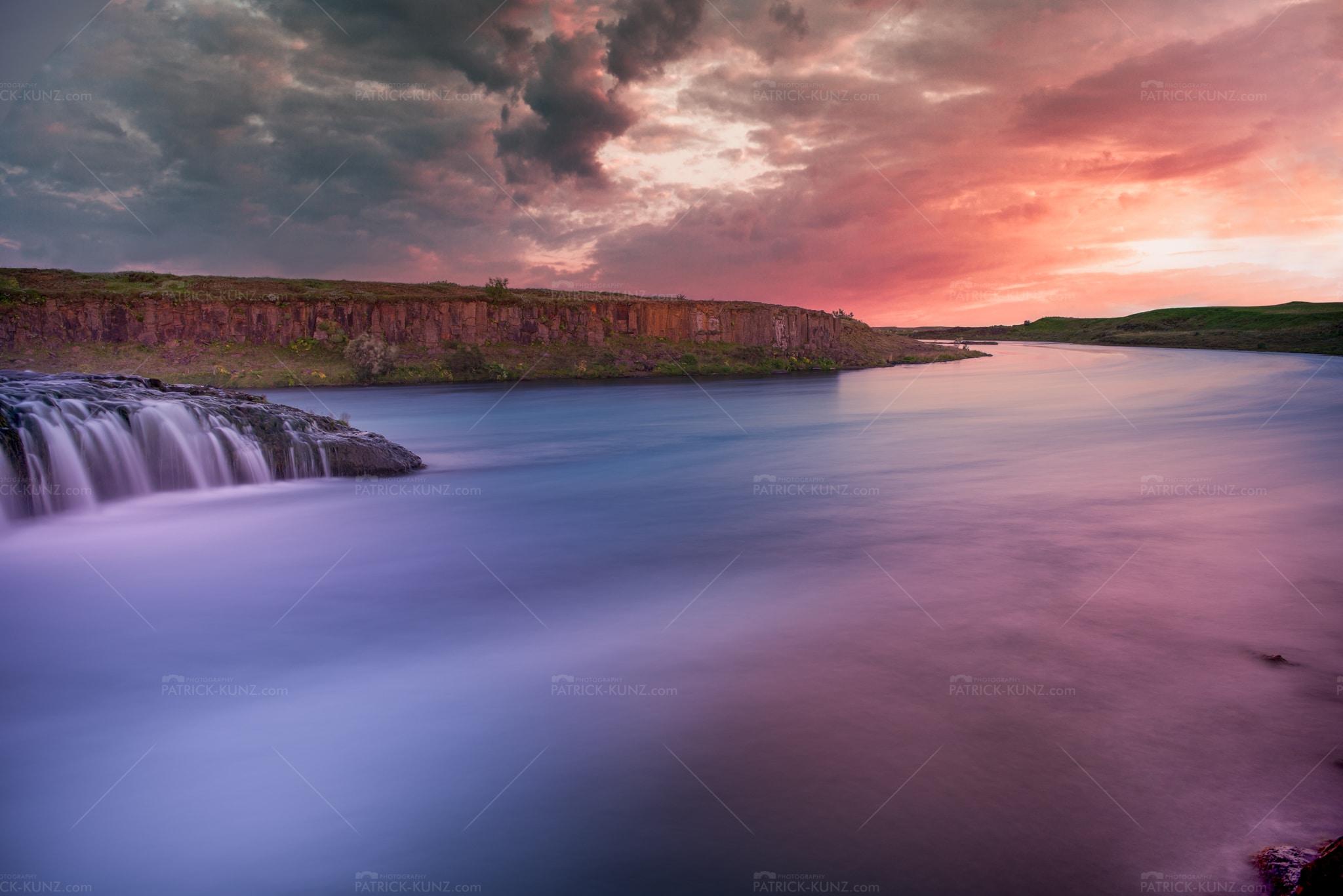 Iceland Sunset Creek