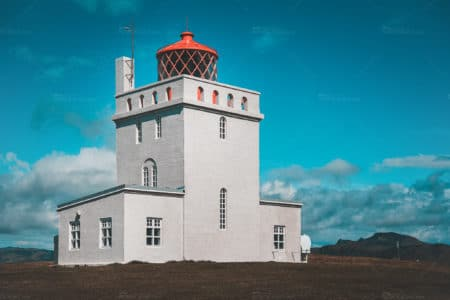 Lighthouse at Dyrhólaey