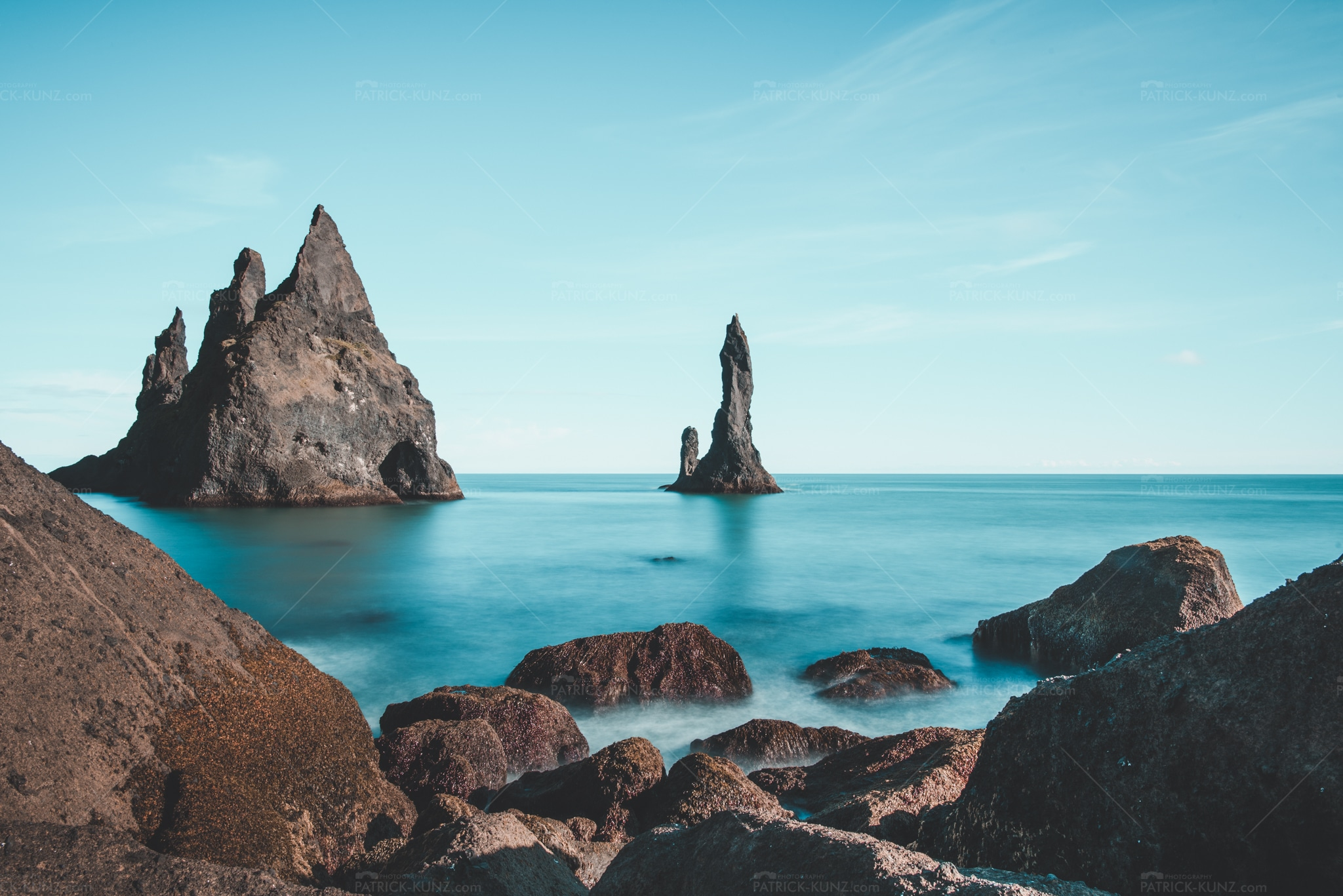 Island Black Sand Beach IV