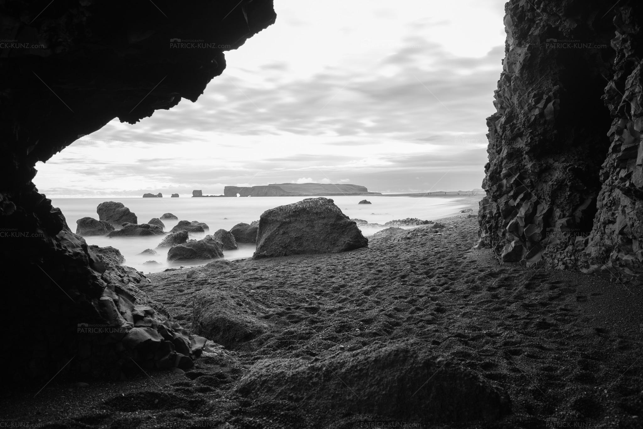 Island Black Sand Beach III