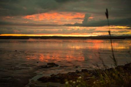 Island Sunset Borgarbyggð