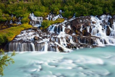 Island Hraunfossar
